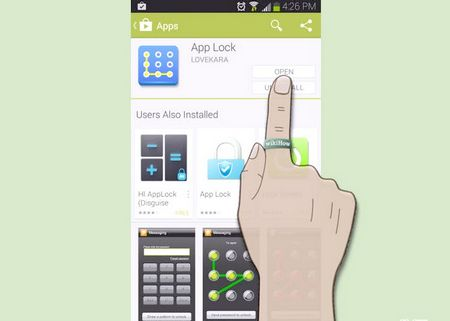 Як налаштувати App Lock або App Protector для Android