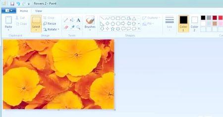 Як обрізати зображення з Microsoft Paint