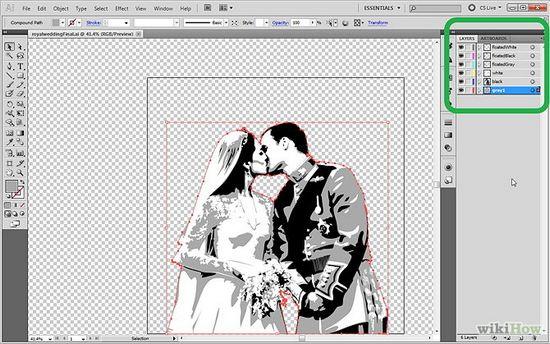 Фото - Як обрізати зображення в Illustrator