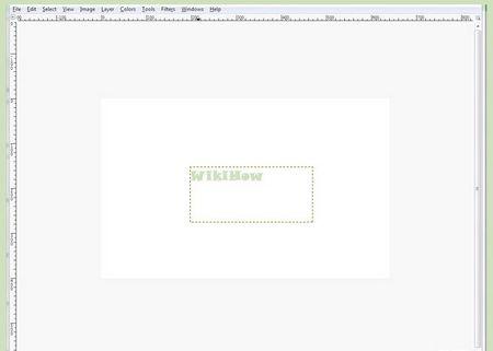Як обвести текст в GIMP 2