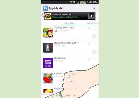 Як одночасно видалити кілька додатків на Android