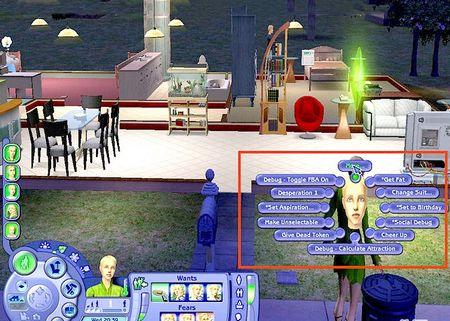 Як користуватися кодами в Sims 2