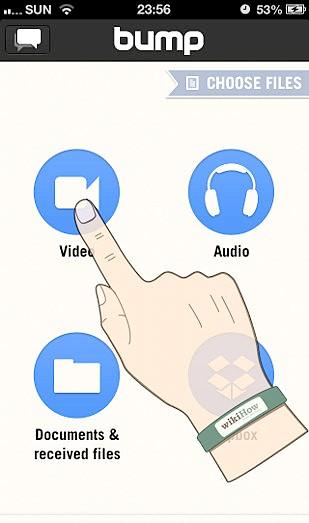 Як користуватися додатком Bump для iPhone