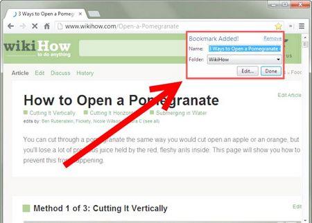 Як користуватися закладками в Google Chrome