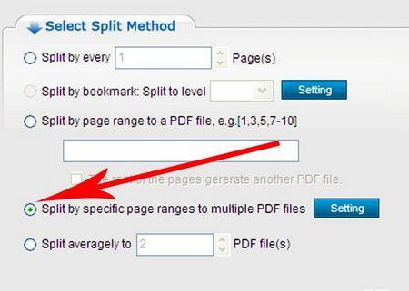 Як розділити PDF документ допомогою ConvertPDF
