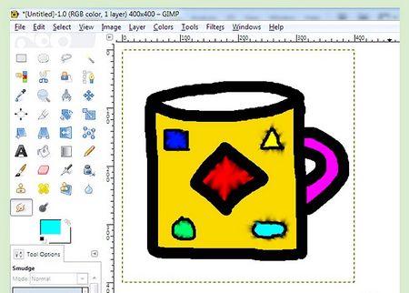 Як малювати в GIMP