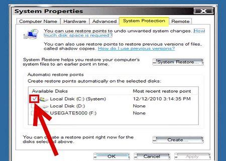 Як видалити файли відновлення системи