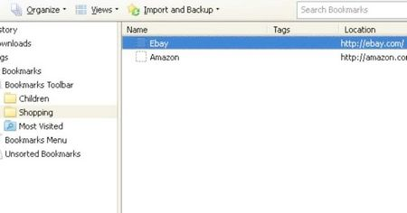 Як управляти закладками в Firefox
