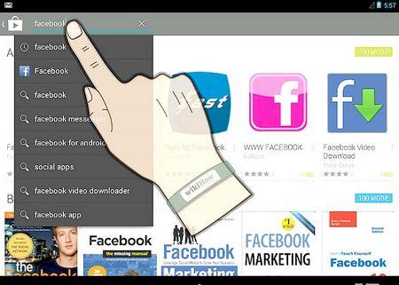 Як встановити Facebook на Android пристрій