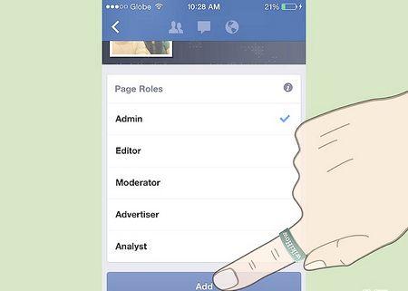 Як встановити роль Адміністратора в Facebook Pages Manager