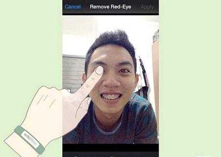 Як усунути ефект червоних очей з фотографій на iPhone, iPod і iPad