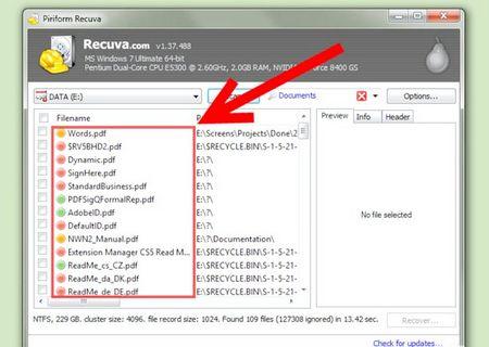 Як відновити вилучені файли з флешки або жорсткого диска