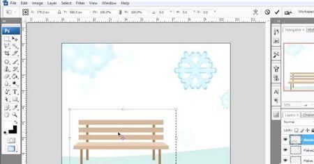 Як обертати об'єкти в Photoshop