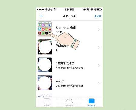 Як робити знімки екрану в iPod Touch