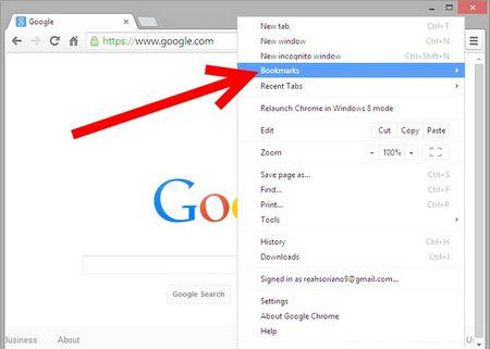Як додавати закладки в Google Chrome