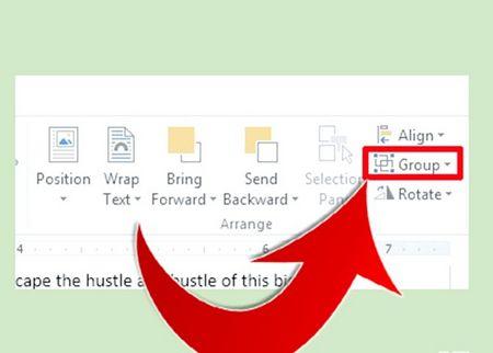 Як групувати об'єкти в Microsoft Word