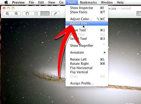 Як змінити розмір зображення (для Mac)