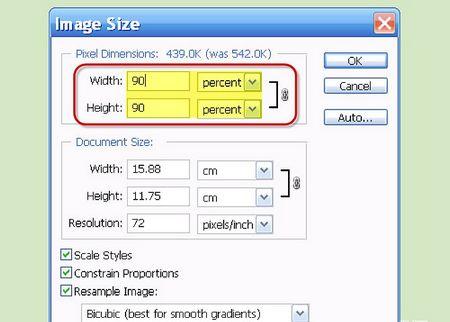 Як змінити розмір зображення (в кілобайтах)