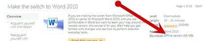 Як відкрити новий документ в Microsoft Office Word 2010