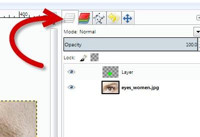 Як перефарбувати частину зображення в Gimp