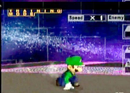 Як зробити рух Wave Dash у грі Super Smash Bros Melee