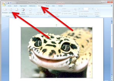 Як зробити листівку у програмі Word