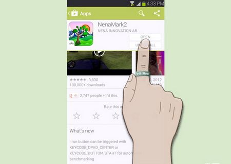 Як виконати бенчмарки на Android