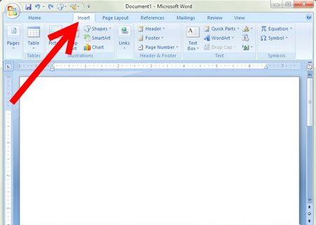 Як сконструювати графік в Microsoft Word 2007