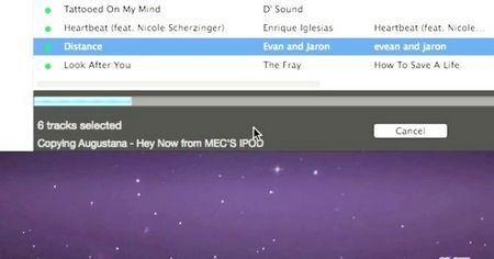Як скопіювати музику з iPod в бібліотеку iTunes
