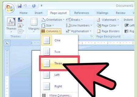 Як створити брошуру в Microsoft Word 2007
